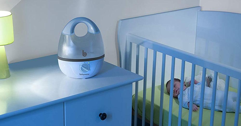 meilleur humidificateur d'air bébé