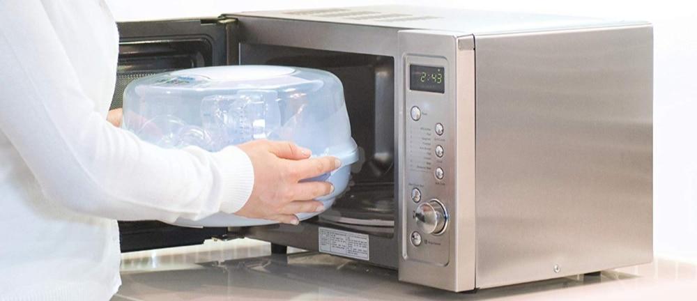 sterilisateur biberon pour micro onde